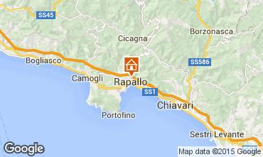 Mappa Rapallo Villa  83469
