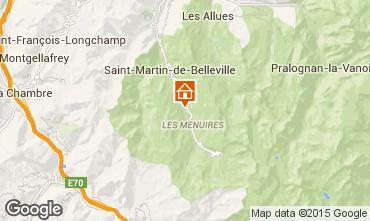 Mappa Les Menuires Chalet 86946