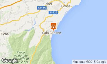 Mappa Cala Gonone Appartamento 80250