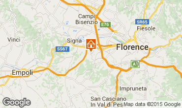 Mappa Firenze Appartamento 14820