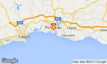 Mappa Praia da Rocha Appartamento 57982