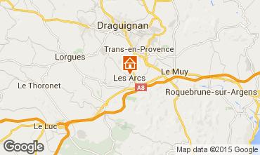 Mappa Les Arcs Chalet 35638