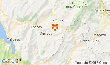 Mappa La Clusaz Appartamento 843