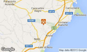 Mappa Avola Villa  64759
