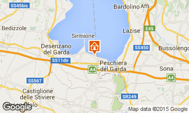 Mappa Sirmione Appartamento 74903