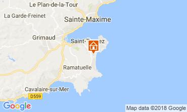 Mappa Saint Tropez Casa mobile 30322