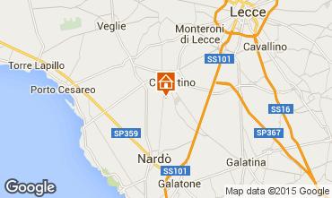 Mappa Porto Cesareo Appartamento 62909