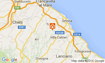 Mappa Ortona Villa  84580