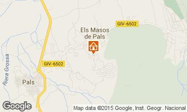 Mappa Pals Villa  84268