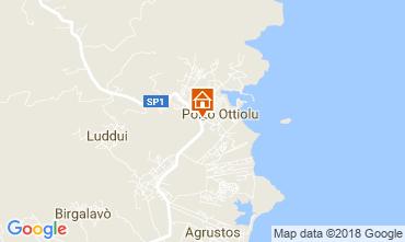 Mappa Porto Ottiolu Appartamento 114183