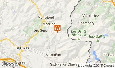 Mappa Morzine Chalet 97040