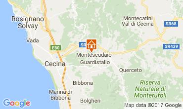 Mappa Cecina Appartamento 107847