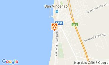 Mappa San Vincenzo Appartamento 110598