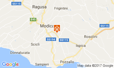 Mappa Modica Villa  80757