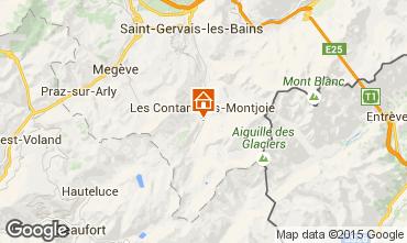 Mappa Les Contamines Montjoie Appartamento 919