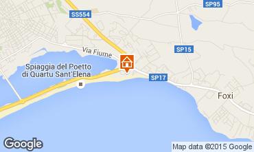 Mappa Quartu Sant'Elena Villa  28021