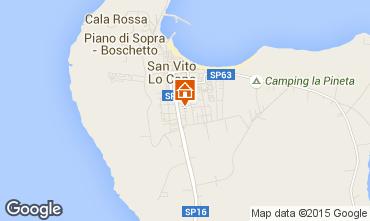 Mappa San Vito lo Capo Appartamento 50468