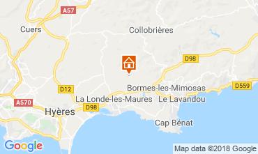 Mappa Hyères Villa  98154