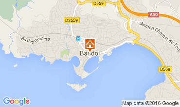 Mappa Bandol Appartamento 102383