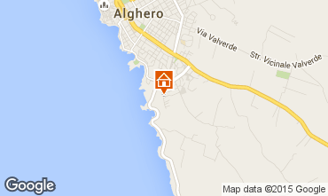 Mappa Alghero Appartamento 92895