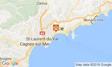 Mappa Nizza Appartamento 54812