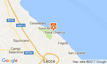 Mappa Lecce Villa  110136