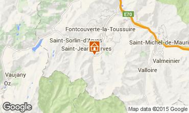 Mappa Saint Jean d'Arves Chalet 2501