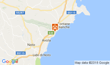 Mappa Avola Villa  112740