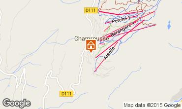Mappa Chamrousse Monolocale 66599