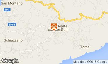 Mappa Sant'Agata sui due Golfi Appartamento 57957