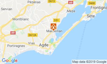 Mappa Marseillan Villa  102556