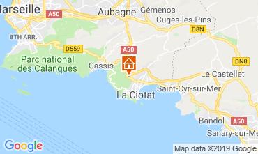 Mappa La Ciotat Casa 119180