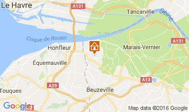 Mappa Honfleur Agriturismo 75823