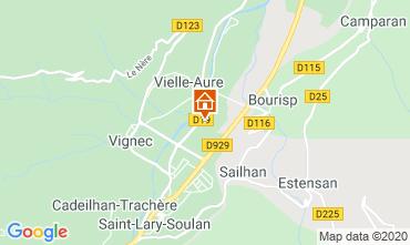 Mappa Saint Lary Soulan Appartamento 4397