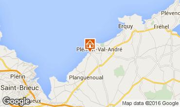 Mappa Pleneuf Val André Appartamento 77337