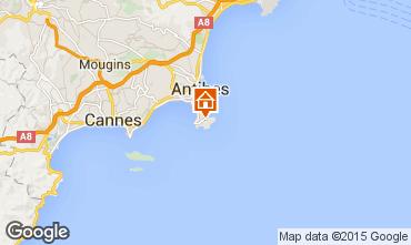 Mappa Antibes Villa  98229