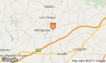 Mappa Poitiers B&B 45132