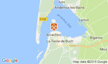 Mappa Arcachon Appartamento 113009