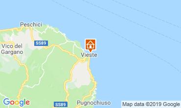 Mappa Vieste Appartamento 118331