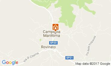 Mappa Campiglia Marittima Appartamento 105072