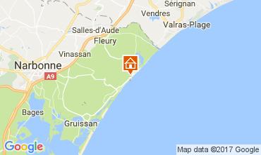 Mappa Saint Pierre la Mer Casa 109341