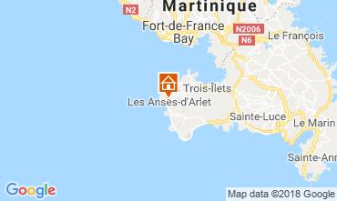Mappa Anses d'Arlet Appartamento 117070