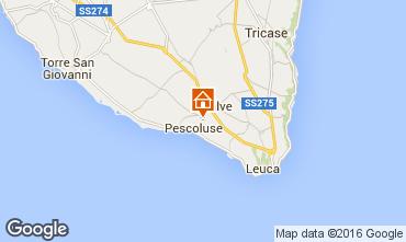 Mappa Pescoluse Villa  102543