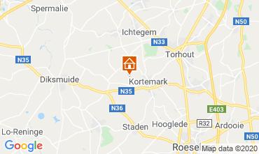 Mappa Bruges Villa  117314