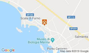 Mappa Porto Cesareo Appartamento 118084