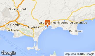 Mappa Hyères Appartamento 28370