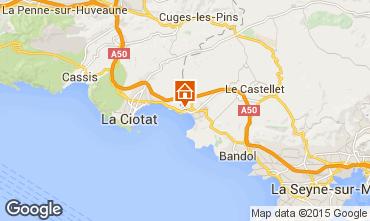 Mappa Saint Cyr sur Mer Monolocale 71396