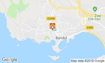 Mappa Bandol Appartamento 118985