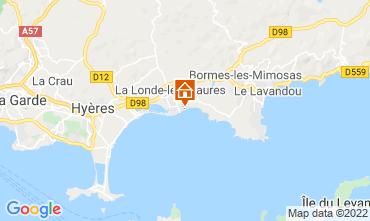 Mappa La Londe les Maures Appartamento 61806