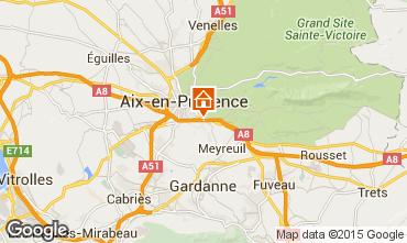 Mappa Aix en Provence Appartamento 91917